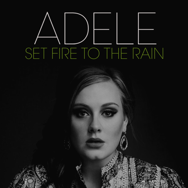 Adele-set fire to the rain клип