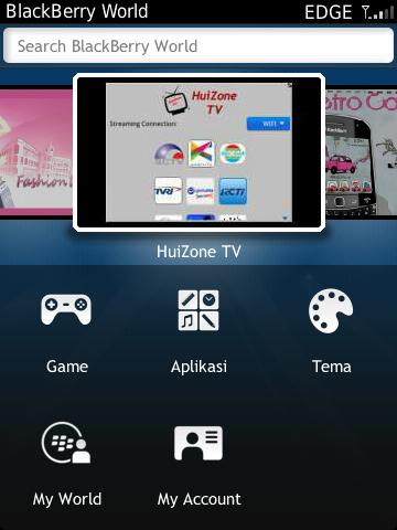 aplikasi tv online di bb