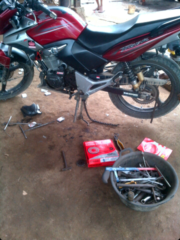 ganti gear set