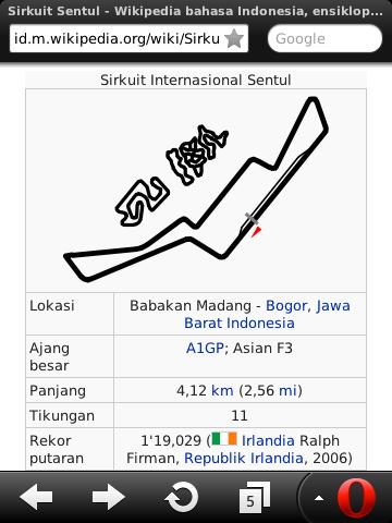 sentul indonesia