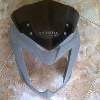 visor+cover headlamp cbsf