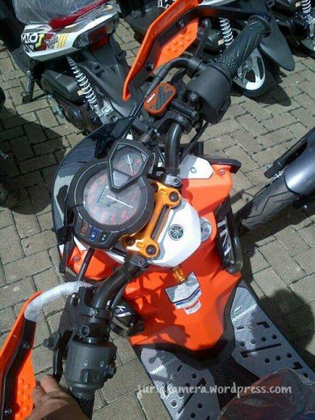 Stang Yamaha X Ride Di New Vixion Lightning