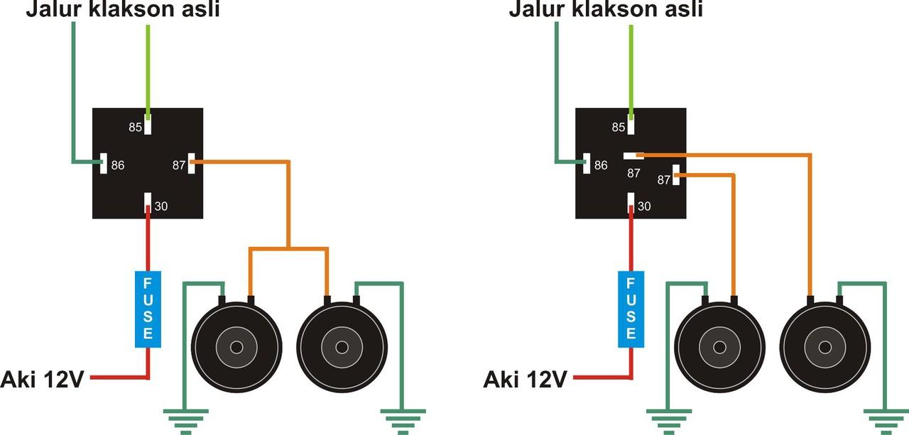 Garage Automotive Cara Pemasangan Relay Klakson Mobil